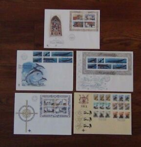 South-West-Africa-1978-Churches-1979-Succulents-1980-Whales-1981-Buildings-FDC