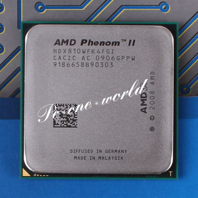 100% OK HDX810WFK4FGI AMD Phenom II X4 810 2.6 GHz Quad-Core Processor CPU
