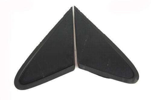 2x Spiegel Dreieck Mercedes Benz W 168 vorn links rechts schwarz Gummi porös