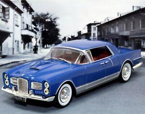 FACEL-Vega-excelencia-1960-Azul-1-43-scale-die-cast-Modelo-del-Coche-Clasico-IXO-ALTAYA