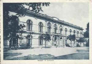 CARTOLINA-VIAGGIATA-1933-SASSARI-R-UNIVERSITA-039-ED-SECCHI-CHIUDEDDU-SARDEGNA