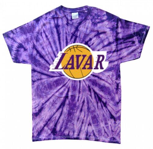 "Tie-Dye Los Angeles Lakers LAVAR BALL /""LOGO/"" Jersey T-Shirt  Shirt"