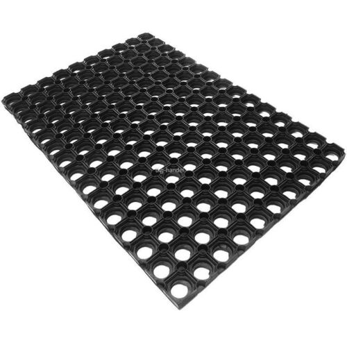 22mm Ringmatte Schmutzfangmatte Wabenmatten Gummimatte 80cm x 120cm