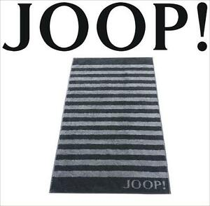 JOOP-Classic-Frottierkollektion-STRIPES-Qualitaet-Handtuch-1610-97-Schwarz-NEU