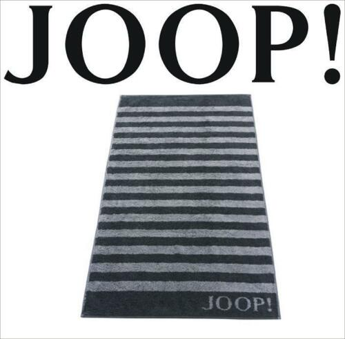 JOOP Classic Frottierkollektion STRIPES Qualität Handtuch 1610-97 Schwarz NEU