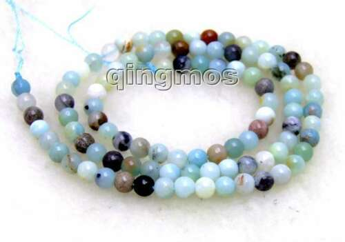 """6mm Round Frost Mix Natural Amazonite Loose Beads for Jewelry Making String 15/"""""""