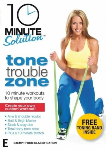 1 of 1 - 10 Minute Solution Tone Trouble Zones DVD Region 4 VG Condition