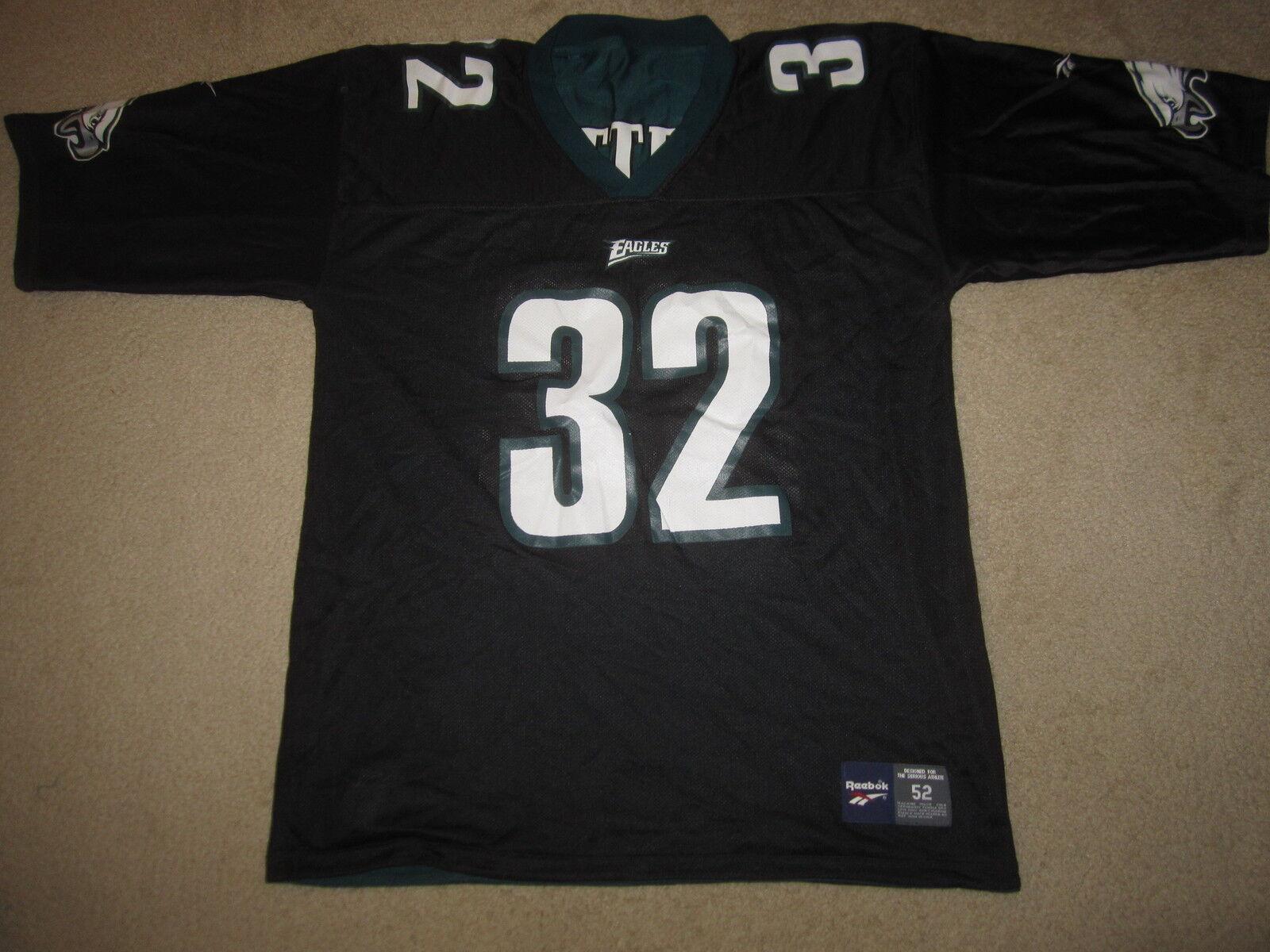 Philadelphia Eagles   32 NFL Schwarz Reebok Trikot 52  | Neue Produkte im Jahr 2019