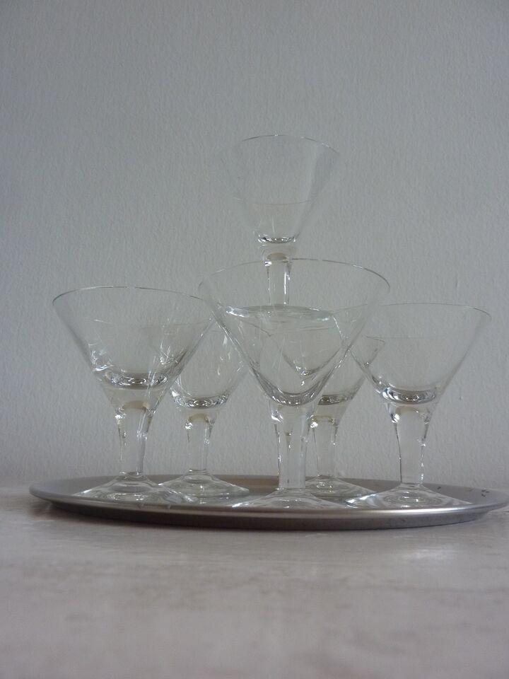Glas, likørglas, Clausholm fra Holmegaard