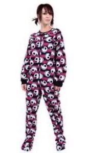 Disney's Nightmare Before Christmas Jack Footed Pajamas Gothic HTF ...