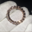 1-50Ct-Round-Cut-VVS1-D-Diamond-Full-Eternity-Wedding-Band-18K-Rose-Gold-Finish thumbnail 2