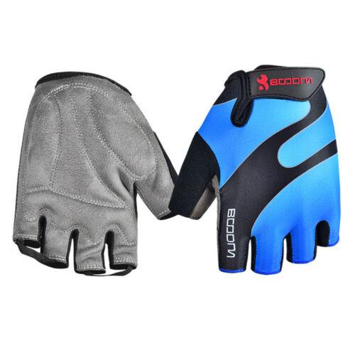 Summer Men Women Cycling Gloves Half Finger Bike Bicycle Mitten Gloves BOODUN