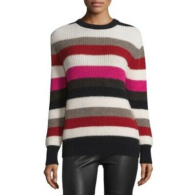 IRO Multicolored Striped Solal Wool Sweater | eBay