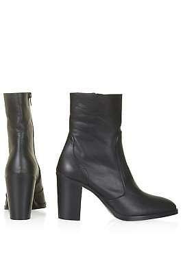 TOPSHOP 'magnificent' black leather