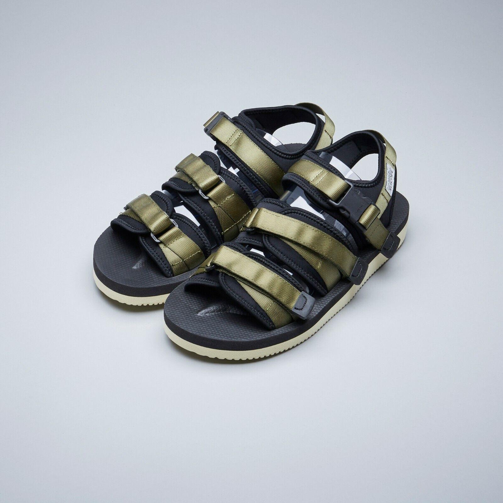 Suicoke SS19 OG -052V    GGA -V Olive verde Vibram regolabile Nylon Tapes Sandals  moda classica
