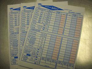 Decisive image pertaining to printable yahtzee score pads