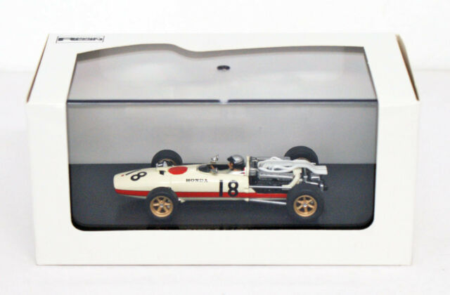 Ebbro 44261 Honda RA273 1966 Italian GP No.18 ( White ) 1/43 scale