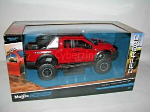 2017 Ford F150 Raptor Off Road Pickup Maisto 1:24 Diecast Model PREOWNED