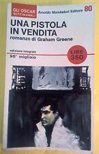 LIBRO GRAHAM GREENE - UNA PISTOLA IN VENDITA - OSCAR MONDADORI 1966