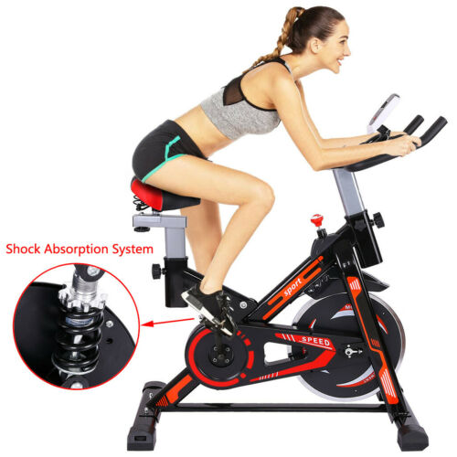 Stationary Exercise Bike Gym Training Cardio Workout Fitness Cycling Bicycle US