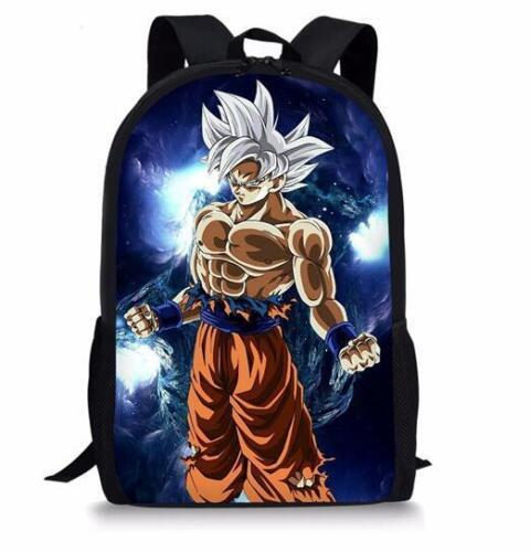 Dragon Ball Super 3D Print Children Travel School Backpacks Boys Bags V09