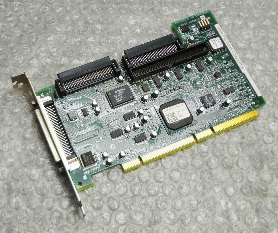 Adaptec SCSI card 29160 SCSI adapter card including Cable/Cable