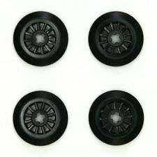 Lego Train Wheels with Rubber O-Ring Band Grip Friction x4 - 57999 4621116 - NEW