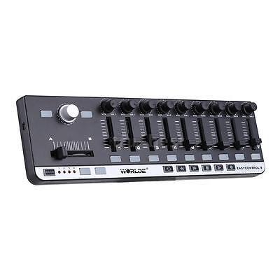 Worlde EasyControl.9 Portable Mini USB 9 Slim-Line Control MIDI Controller 0G7B