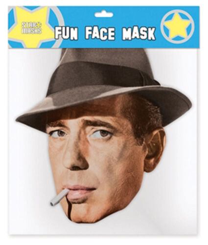 Humphrey Bogart maschera-di alta qualità lucentezza scatola di cartone con gli occhi fori