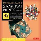 Origami Paper Samurai Prints Large 8 1/4 9780804843461 by Tuttle Publishing
