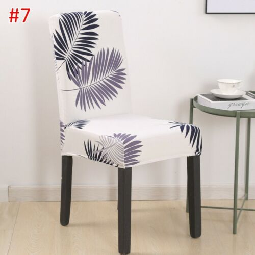 Chair Cover Dining Chair Slipcover Stretchy Seat Protector Wrinkle Resistant