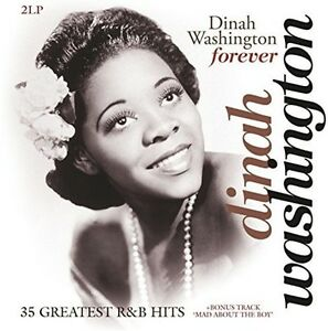 Forever-35-Greatest-R-amp-B-Hits-Dinah-Washington-2017-Vinyl-NEU-2-DISC-SET