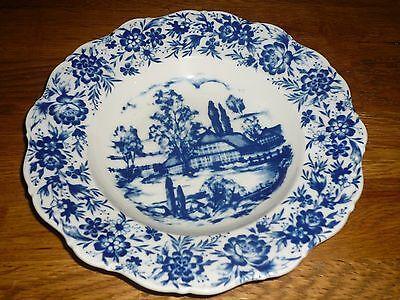 Suppenteller D 23,5 cm Seltmann Weiden Theresia Heimatland blau