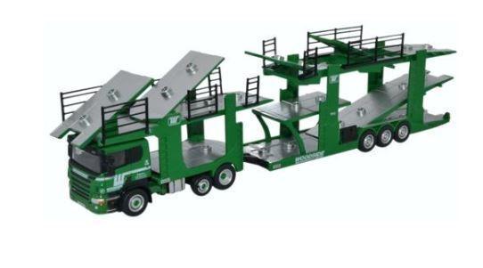 Oxford transporte Scania Evo 6 Coche Coche Coche Transportador Woodside motorfreight - 76SCT003 6e2aeb