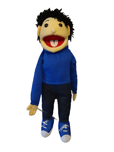 Boy puppet norton 26  Ventriloquist,Educational.Moving mouth and arm rod