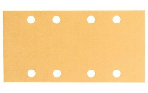 Bosch Pastille de sablage c470 Velcro 93 x 186 mm 8 Trous 50er-Pack 80