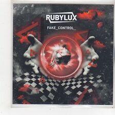 (FS56) Rubylux, Fake Control - 2010 DJ CD