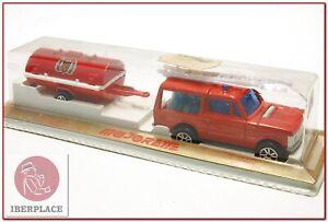 Vintage-Majorette-camion-ancienne-metal-Pompier-maqueta-modelismo-coche-auto-car