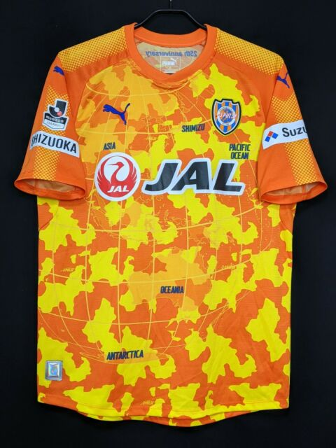2017 Shimizu S-Pulse J.League Home Jersey Soccer Shirt (Japan Size XL)