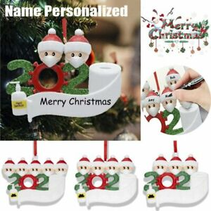 2020 Christmas Ornament Family DIY Tree Hanging Ornament Decor
