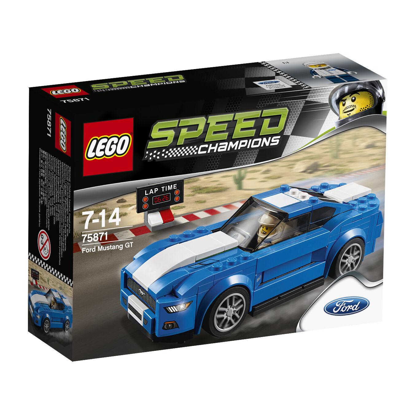 LEGO  ® Speed Champions 75871 FORD MUSTANG GT Nouveau neuf dans sa boîte nouveau En parfait état, dans sa boîte scellée Boîte d'origine jamais ouverte  magasiner en ligne aujourd'hui