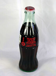 1999 Tejano Music Awards XIX Coca Cola Coke Bottle Full March 20