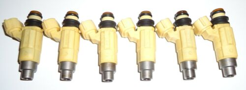 F225 Fuel Injector Set 6 Injectors 69J-13761-00-00 Year 2002-2012 Yamaha F200