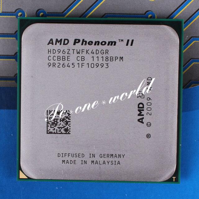 100% OK HD96ZTWFK4DGR AMD Phenom II X4 960T 3 GHz quad-core Processor CPU