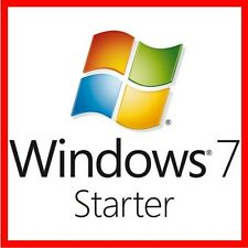 Windows 7 STARTER 32 BIT PRODOTTO ORIGINALE CODICE di licenza codice seriale