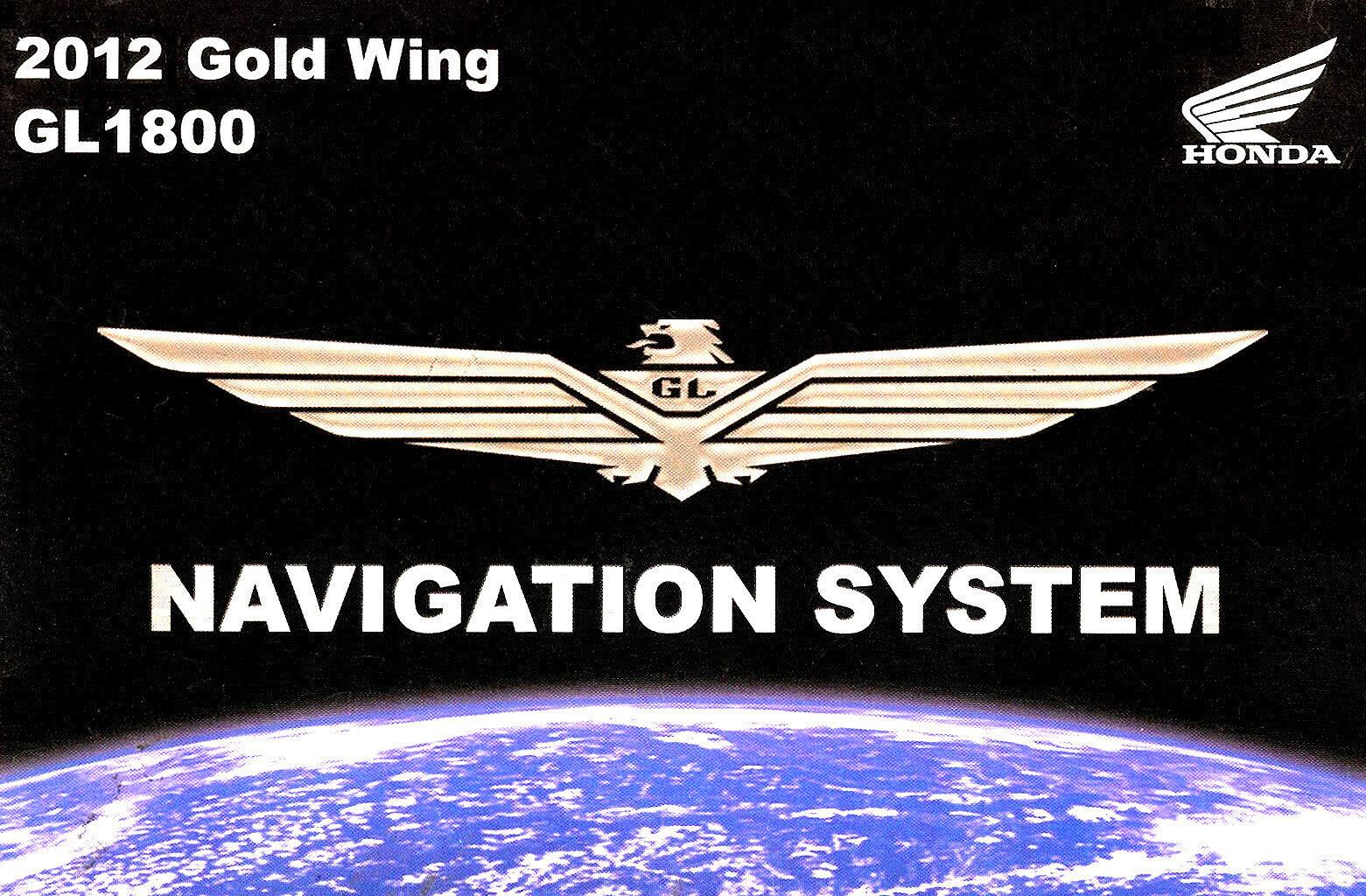 oem 2012 honda gl1800 gl 1800 goldwing owner s manual navigation rh ebay com 2015 goldwing owners manual 2015 goldwing owners manual