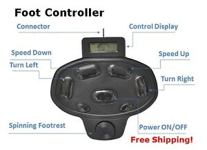 Haswing foot pedal controller for cayman 55 lbs 80 lbs ebay for Aquos trolling motor review