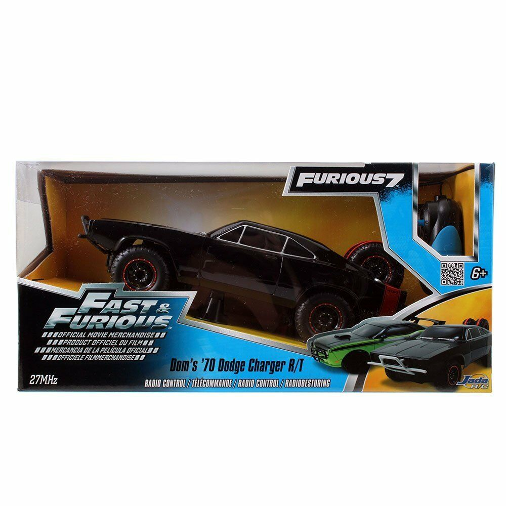 FAST & FURIOUS 7 Doms 1970 Dodge Charger 1:16 Scale Radio Control Off Road Car