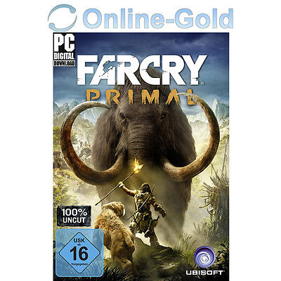Far Cry Primal Key - Uplay Ubisoft Download Code - PC Standard Version NEU EU/DE