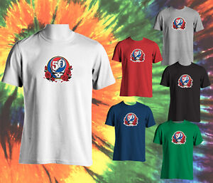 d74ab67d Image is loading GRATEFUL-DEAD-50TH-ANNIVERSARY-STEAL-YOUR-FACE-T-